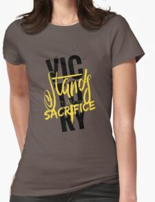 The 100: Victory Womens Fitted T-Shirt