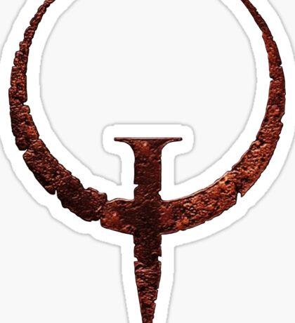 Quake Logo Sticker