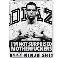 Nate Diaz UFC iPad Case/Skin