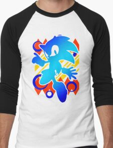 Abstract 90's Sonic T-Shirt