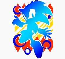 Abstract 90's Sonic Unisex T-Shirt