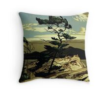 The Group of Seven - White Pine Throw Pillow