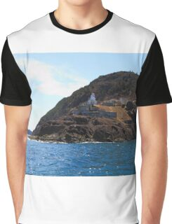 Canadian National Historical Site Fort Amherst, WWII bunkers Graphic T-Shirt