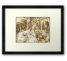 Collage - Arches Framed Print