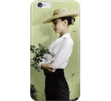 Audrey in Colour iPhone Case/Skin