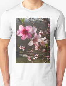 Peach Blossoms Unisex T-Shirt
