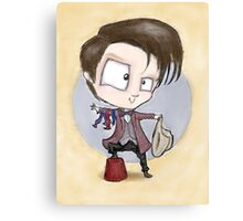 Eleventh Doctor - Hashtag Cool Canvas Print