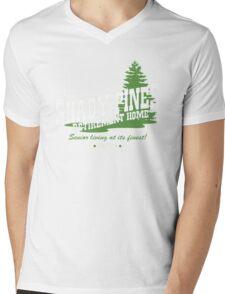 Shady Pines Mens V-Neck T-Shirt