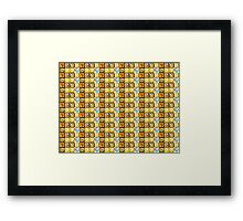 Mario Blocks Framed Print