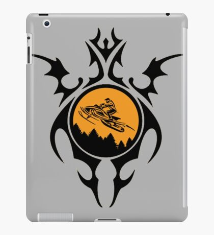 Gnarly Snowmobiling  iPad Case/Skin