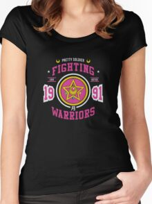 Fighting Warriors Women's Fitted Scoop T-Shirt