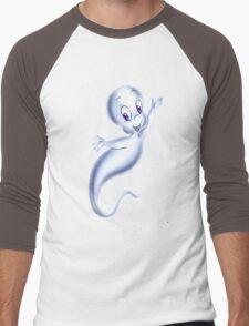 casper  ghost good Men's Baseball ¾ T-Shirt