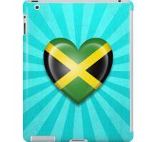 Jamaican Heart Flag iPad Case/Skin