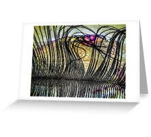 Petals on the Tongue Greeting Card