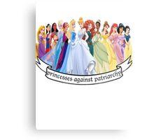 Princesses Against Patriarchy Metal Print