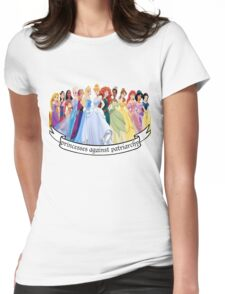 Princesses Against Patriarchy Womens Fitted T-Shirt