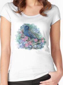 Blue bird Women's Fitted Scoop T-Shirt