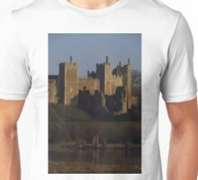 Afternoon Glow, Framlingham Castle Unisex T-Shirt