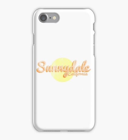 sunnydale iPhone Case/Skin