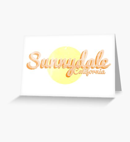 sunnydale Greeting Card