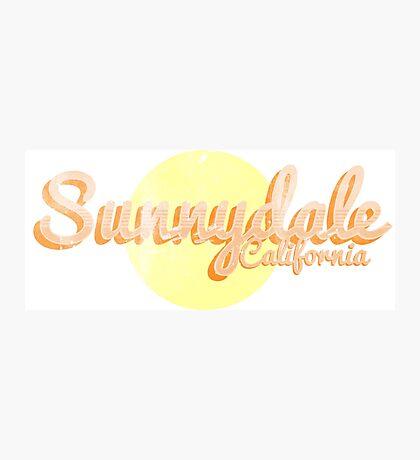 sunnydale Photographic Print