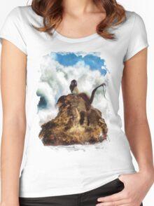Dangerous yet beautiful creatures Women's Fitted Scoop T-Shirt