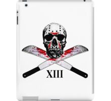 Hockey Mask Skull and Machetes iPad Case/Skin