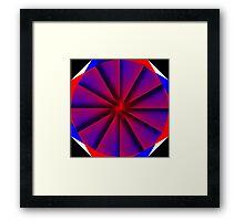 Endless Pinwheel Framed Print
