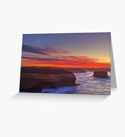 Sunrise - 12 Apostles Greeting Card