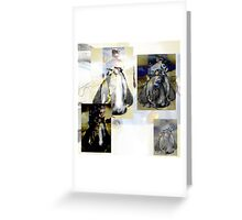 Penguin Divas  Greeting Card