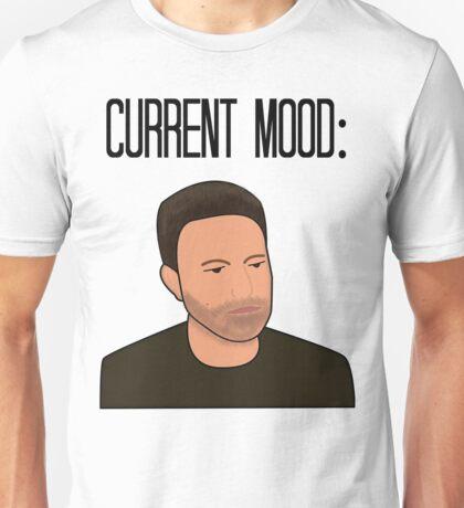 Sad Ben Affleck Cartoon Unisex T-Shirt