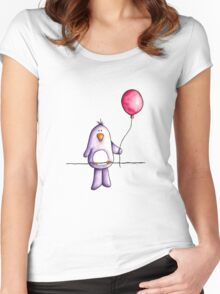 Little baby bird Women's Fitted Scoop T-Shirt