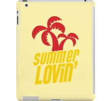 Summer lovin with tropical palms iPad Case/Skin
