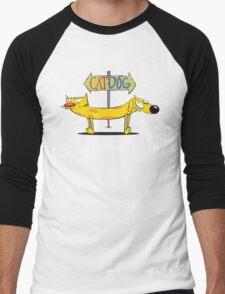 CatDog Men's Baseball ¾ T-Shirt