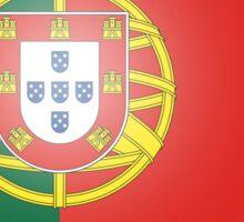 Portuguese Heart Flag Sticker