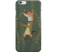 The Foxer - Fox Boxer iPhone Case/Skin