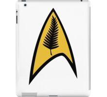 Kiwi Style Silver Fern Star Trek Delta. iPad Case/Skin