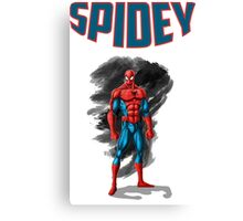 spidey design t-shirt-02 Canvas Print
