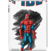 spidey design t-shirt-02 iPad Case/Skin