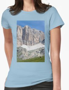 Glacier mountain Womens Fitted T-Shirt