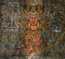 Manjushri  by Ti Campbell-Allen