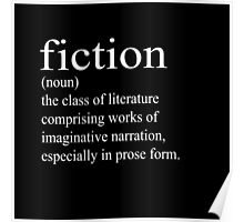 Fiction Definition Poster
