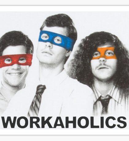 Workaholics tmnt Sticker