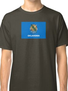 Oklahoma Flag - USA State T-Shirt Sticker Duvet Cover Classic T-Shirt