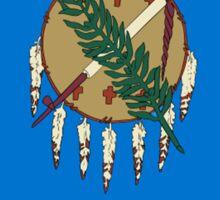 Oklahoma Flag - USA State T-Shirt Sticker Duvet Cover Sticker