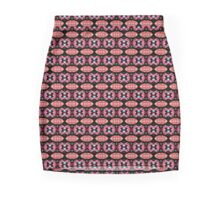Pink Printed Slimfit Designer Mini / Pencil Skirt by Marijke Verkerk Design Mini Skirt