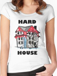 GTA Hard House Women's Fitted Scoop T-Shirt