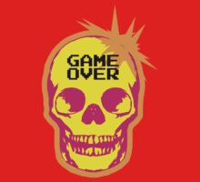GAME OVER punk skull One Piece - Short Sleeve