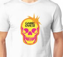 GAME OVER punk skull Unisex T-Shirt