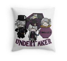 UndertakerS chibi Throw Pillow
